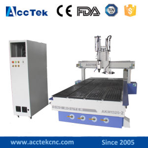 Two Italian Hsd Spindle CNC Router Spindle Controller Akm1325-2