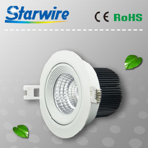 Cl09-A11 9W Dimmable COB LED Downlight pictures & photos
