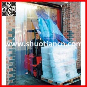 Anti-Insect Anti-Static Transparent Flexible Plastic Strip Curtain Door (ST--002) pictures & photos