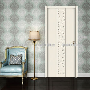 Decorative Material WPC Solid Fire-Resistant Door with Long Life (YM-069) pictures & photos