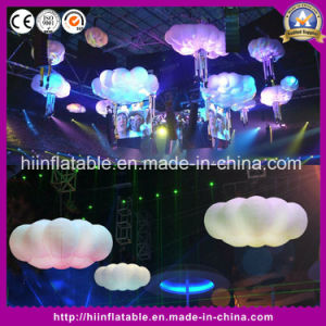 Best Price Inflatable LED Light Clouds Hanging Wedding/Party Decoration Cloud Inflatable