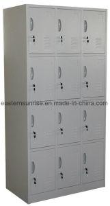 Quality Low Price 12 Door Metal Steel Iron Clothe Locker pictures & photos