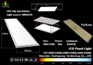 LED Panel Light 3 Years Warranty CE RoHS Panellight