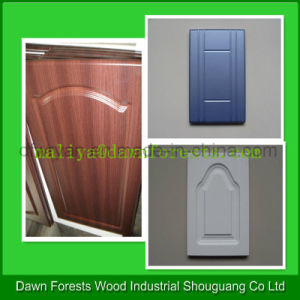MDF Baseboard Furniture Used PVC Cabinet Door pictures & photos