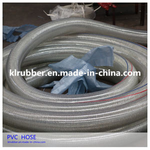 PVC Steel Wire Reinforced Suction Hose pictures & photos