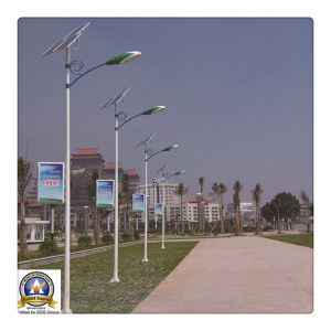 30W 6m Solar LED Street Light Wih Bridgelux Chips pictures & photos
