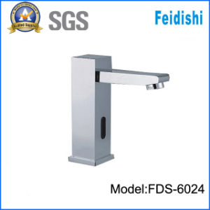 Fashionable Brass Sqaure Stye Sensor Faucet (FDS-6024)