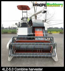 Self-Propelled Rubber Crawler Rice Harvester Machine 4lz-5.0z pictures & photos