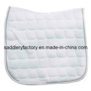 Wholesale Poly Cotton Saddle Blanket for Horse (SMS5124) pictures & photos