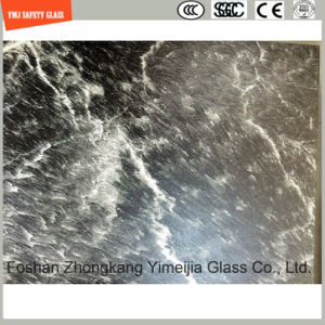 3-19mm UV-Resistant Silkscreen Print/Acid Etch/Frosted/Pattern Flat/Bent Tempered/Toughened Glass for LED Light, Outdoor Table Top & Decoration with SGCC/Ce pictures & photos