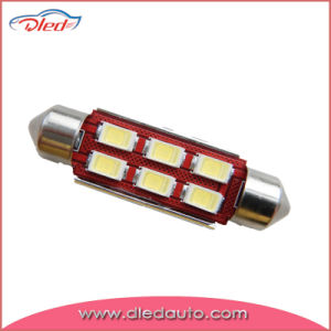 36mm 6*5730SMD/5630SMD Festoon Canbus LED Dome Light Auto LED Bulb pictures & photos