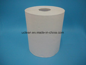 180m White Color Hand Roll Paper Towel pictures & photos