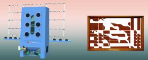 Manual Glass Sand Blaster Machine pictures & photos