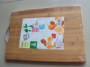 Kitchen Nature Recycling Bamboo Chopping Board (QW-CH42) pictures & photos