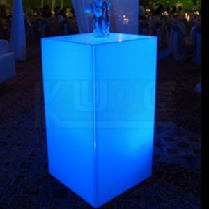 Garden Furnitures Light up in Dard Colorchang Bar Tables pictures & photos