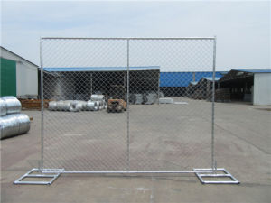 Temporary Chain Link Fence pictures & photos