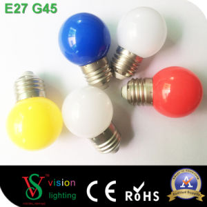 Holiday Decoration G45 Colorful Bulbs pictures & photos
