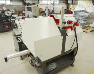 Window Profile Machine for Double Head Welding pictures & photos