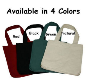 Eco Promotional Shopping Cotton Tote Canvas Handbags pictures & photos