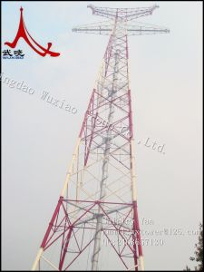 Lattice Angle Steel Tower /Tubular Tower of Power Transmission Line Tower pictures & photos