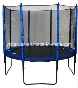 Cheap Trampoline with Inside Safety Net pictures & photos