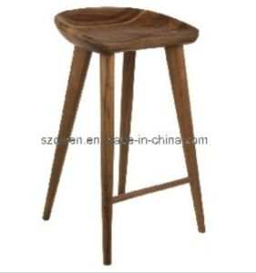Ash Wood Bar Stool/Tractor Stool (DS-L012)