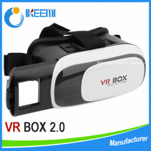 New Head Mount Plastic 3D Glasses Vr Virtual Reality Glasses Google Cardboard Movies Games for 3.5 to 5.7 Inch Smartphone pictures & photos