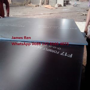 F17 Formwork Plywood 1200*1800*17mm pictures & photos
