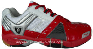 Badminton Court Shoes Table Tennis Footwear for Men′s and Women′s Size (815-5277) pictures & photos