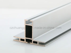 Double Sided Fabric Aluminium Extrusion --Factory pictures & photos