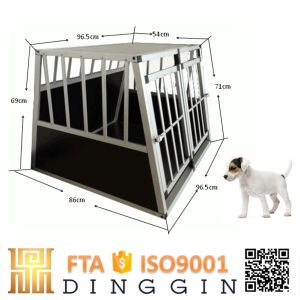 Fashion Aluminum Transport Dog Crate for Sale pictures & photos