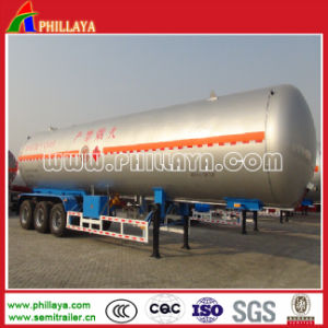 25tons Propane Liquid Gas Transportation Steel Tank LPG Tanker Trailer pictures & photos