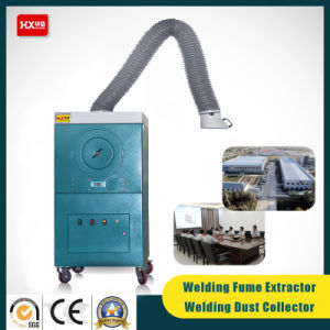 High Efficiency Portable Double Cartridge Filter Welding Fume Collector pictures & photos
