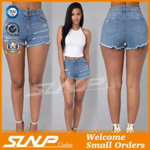 Fashion Lady Woman Short Denim Jeans