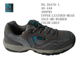 Two Color Men Hiking Stock Shoes pictures & photos