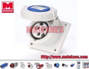 16A 2p+PE IP67 Industrial Socket (MN1332)