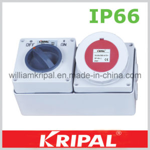 5pin 16A Cee Weatherproof Switch Socket pictures & photos