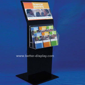 Foldable Floor Standing Brochure Holder (BTR-H6026) pictures & photos