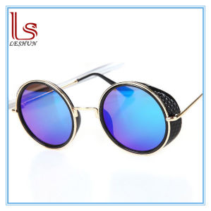 Wholesale Fashion Accessories Hot New Men and Women Circle Sunglasses Round Sun Glasses pictures & photos