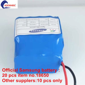 Official Samsung Battery Taotao PCBA UL and BS Certificated Battery Charger Electric Mini Two Wheel Self Balancing Scooter pictures & photos