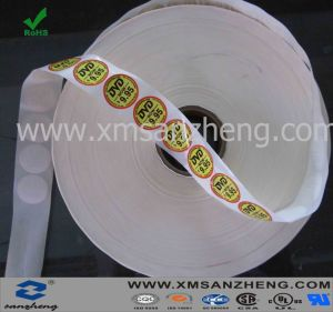 Self Adhesive Paper Sticker in Roll pictures & photos