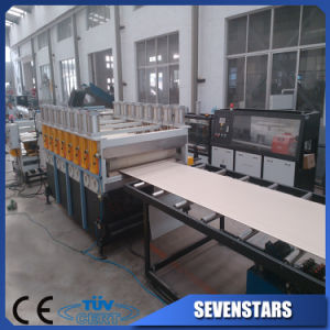 Plastic PVC and WPC Foam Board Extrusion Machine pictures & photos