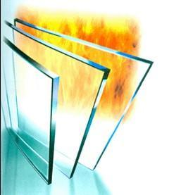 4mm Stand High Temperature Fireproof Glass for Fireplaces