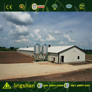 Cost Saving Prefabricated Modular House for Chicken Farm pictures & photos