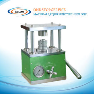 Coin Cell Crimping Machine for Button Cell Cases Sealing (GN-MSK110) pictures & photos