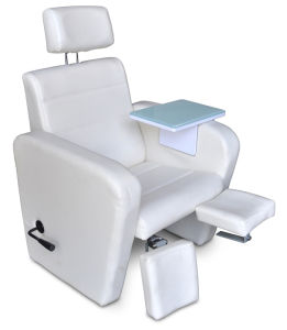 Manual Reclining Pedicure Chair (TKN--32320A) pictures & photos