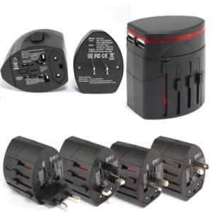 Universal Travel Adapter Plug AC/USB Power Adaptor pictures & photos