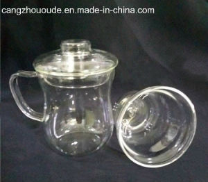 Newest Cheap Clear Borosilicate Glass Glass Tea Cup pictures & photos