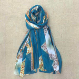 Wholesale Cotton Pashmina Shawl Digital Print Custom Scarf