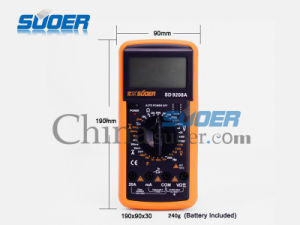 Suoer Digital Multimeter SD-9208A Digital Multimeter (SD-9208A) pictures & photos